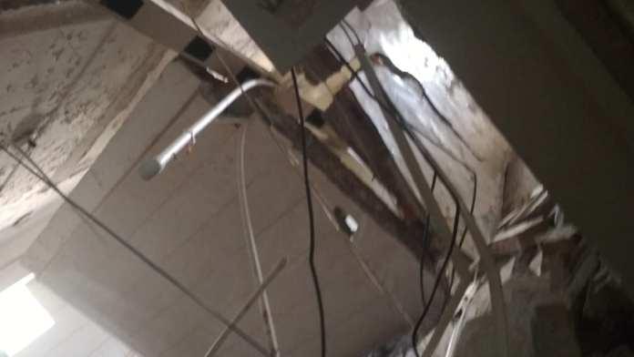 Опубликованы фотографии из общежития в Рязани, где сегодня рухнул пол