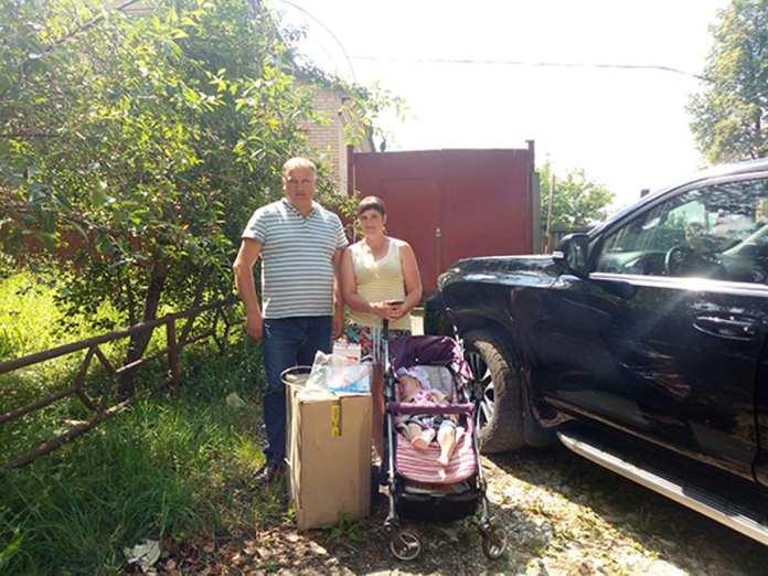 Депутат Рязанской облдумы помог многодетной матери из Шацка