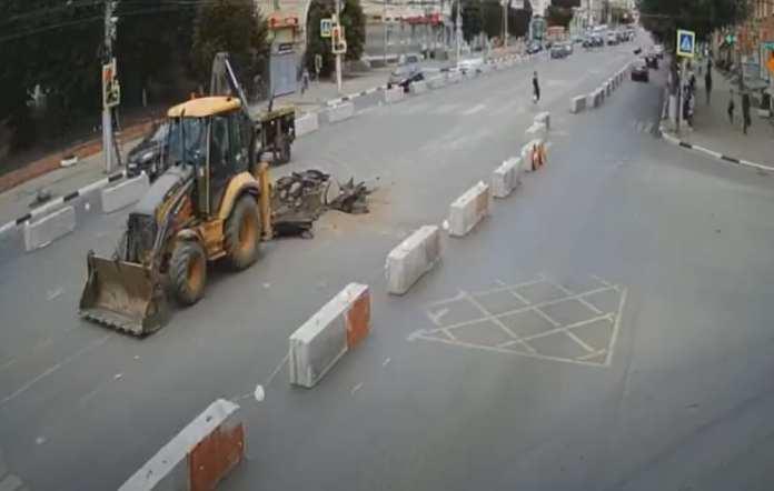 Администрация Рязани прокомментировала неудобства из-за ремонта теплотрассы на Первомайском проспекте