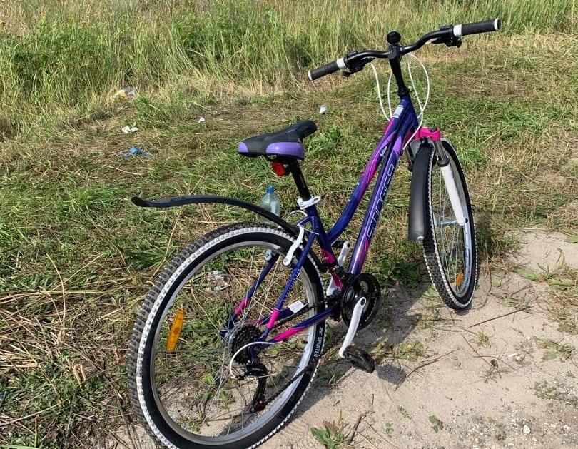 В Клепиковском районе девушка-водитель сбила юную велосипедисту