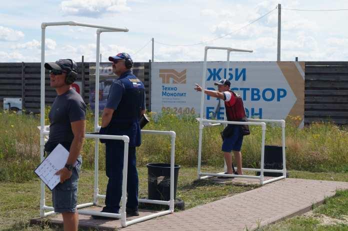Под Рязанью прошли соревнования по стрельбе спортинг-компакт