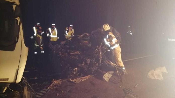 Пятеро погибли в автокатастрофе на Алтае