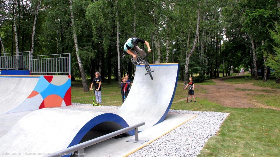 В Рязани устраняют недочёты скейт-парка в ЦПКиО