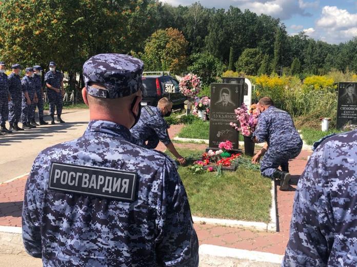 В Рязани почтили память охранника, погибшего от рук бандитов