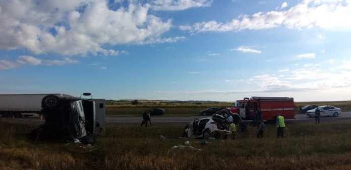 Мужчина, женщина и 2-летний ребёнок погибли на рязанском участке трассы «Каспий»
