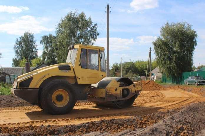 В Скопинском районе ремонтируют дороги