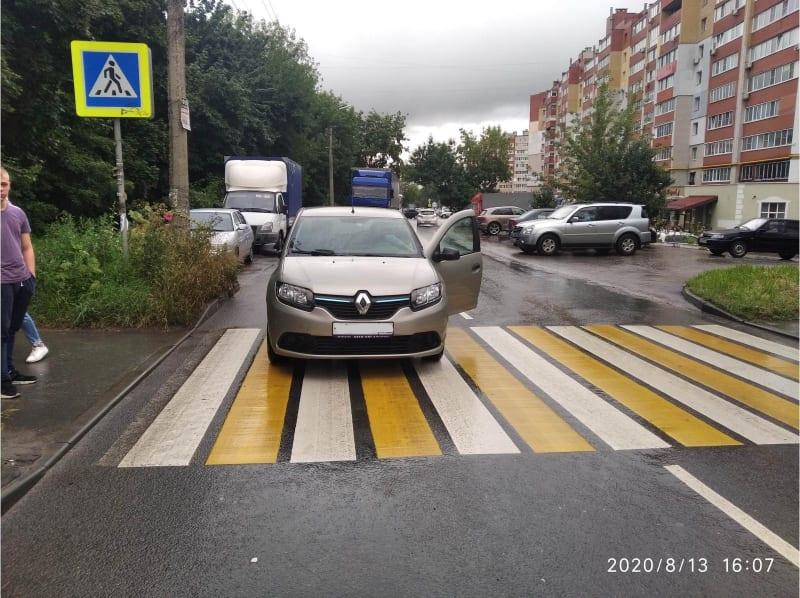 На переходе в Дашково-Песочне сбили пешехода