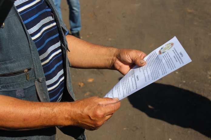 В Скопинском районе местным жителям напомнили, как избежать пожаров