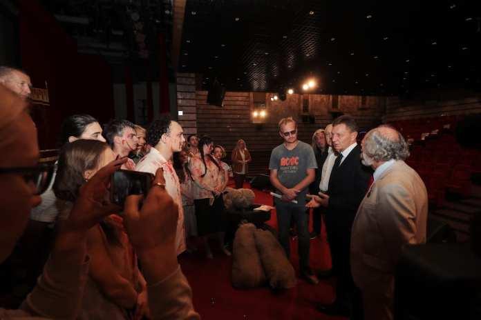 Владимирский театр показал спектакль в Москве