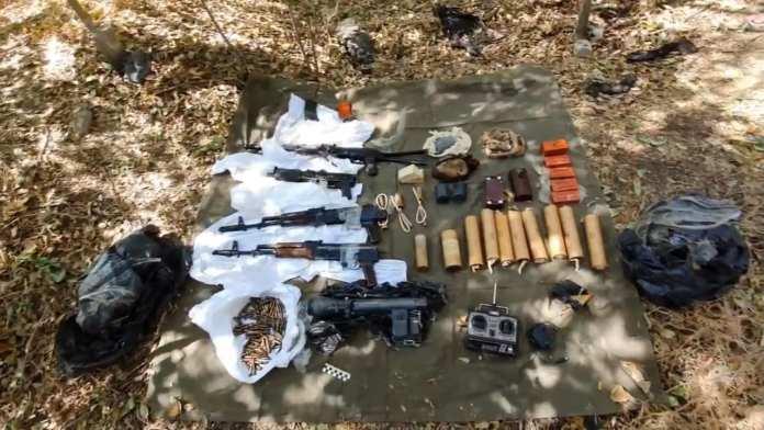 В Волгограде нашли тайник с оружием лидера ОПГ