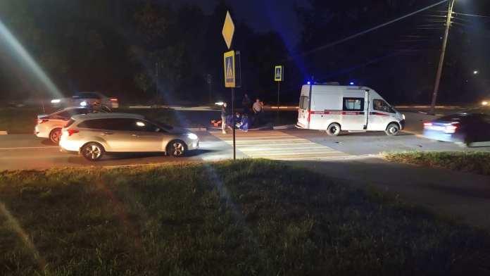 На улице Зубковой в Рязани сбили пешехода