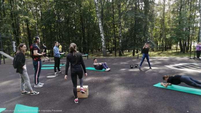 В Рязани прошли «Спортивные выходные»
