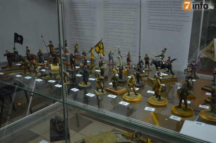 В Рязани открылась выставка стендового моделизма