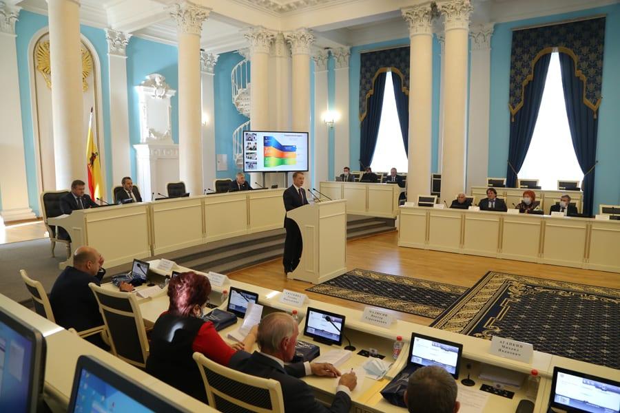 Депутаты Рязанской областной Думы шестого созыва подвели итоги своей работы