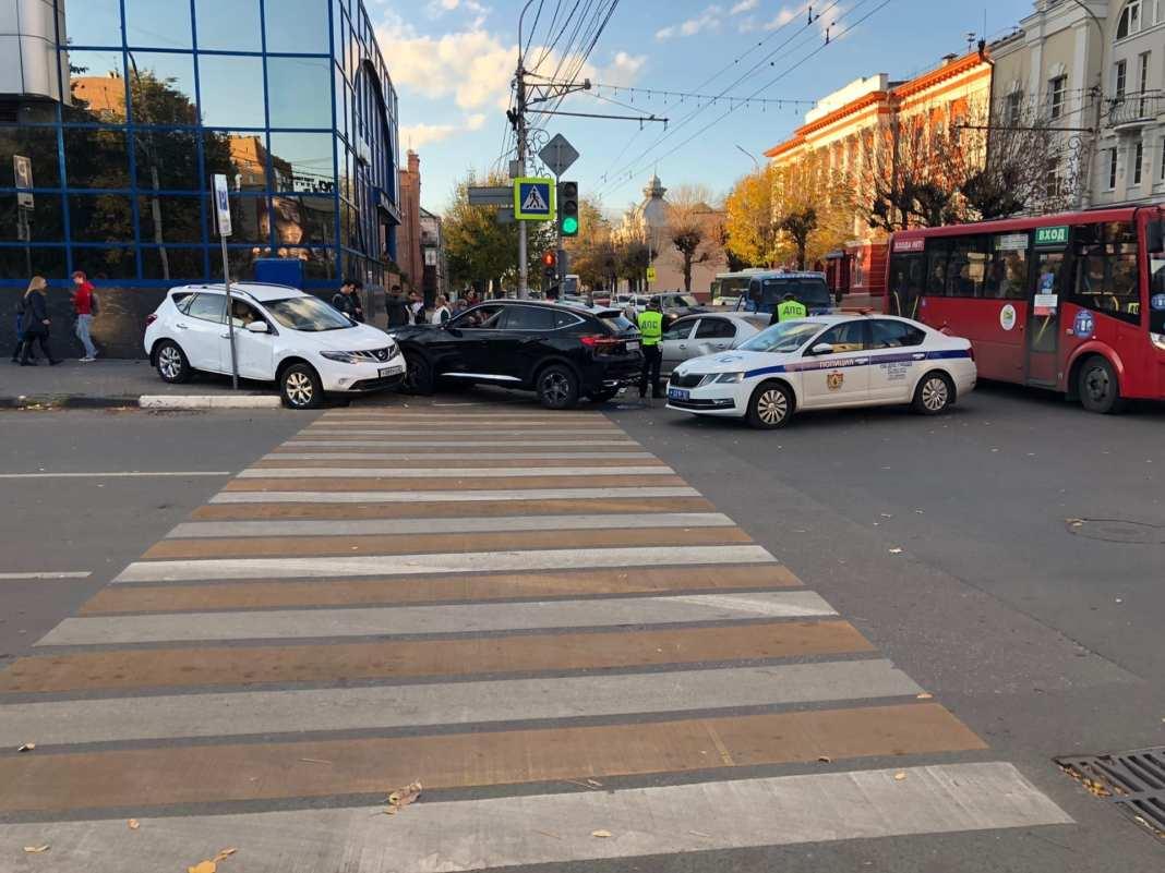 Появились подробности аварии в Рязани на улице Ленина, в которой пострадал ребенок