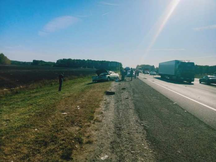 В ДТП на М-5 под Рязанью погибли женщина и ребёнок