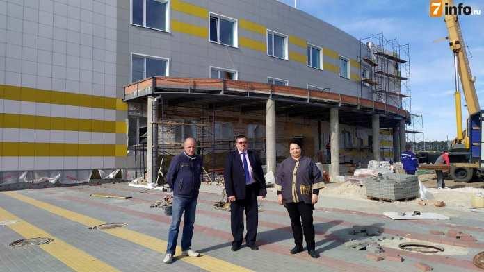 В Старожилово завершается строительство ФОКа