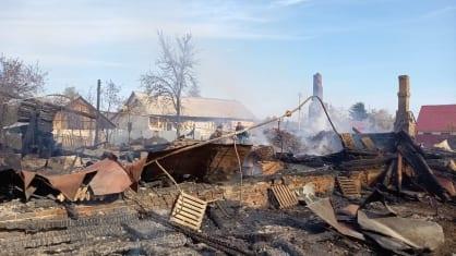 Следователи установят обстоятельства гибели женщин на пожаре в Клепиковском районе