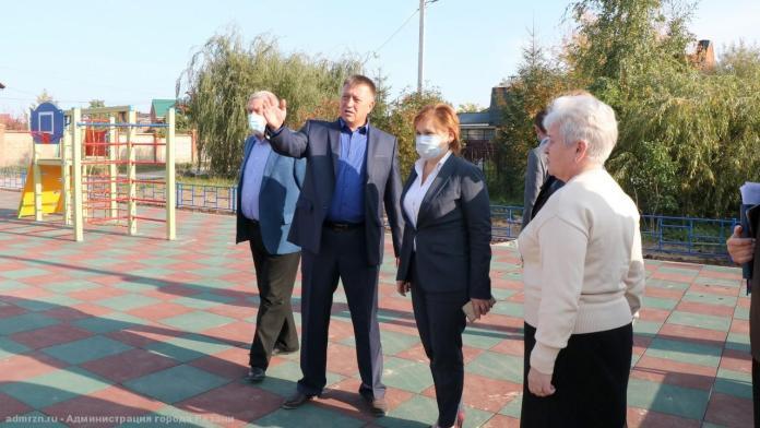 В Канищеве появилась новая детская площадка