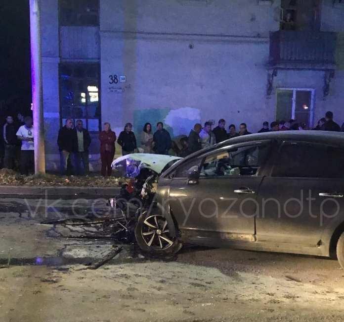 Мотоциклист разбился насмерть в ДТП в Рязани