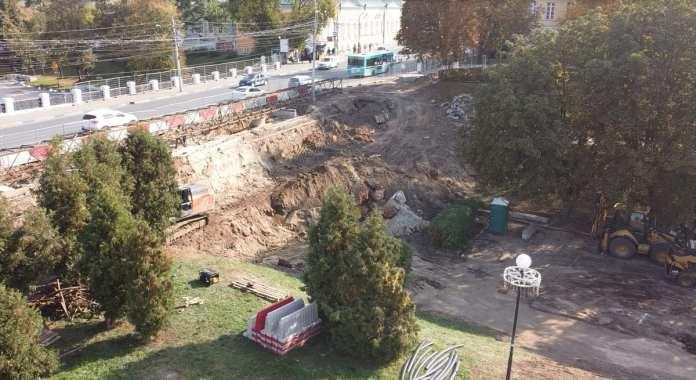 В Рязани забили первую сваю нового моста на улице Ленина