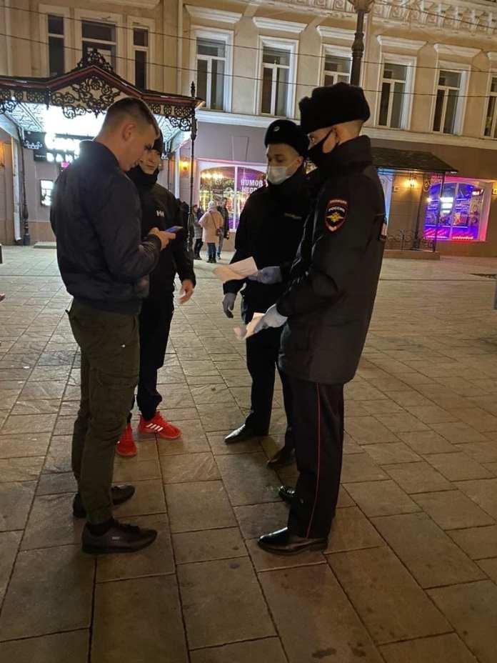 В центре Рязани прошли «антикоронавирусные» рейды