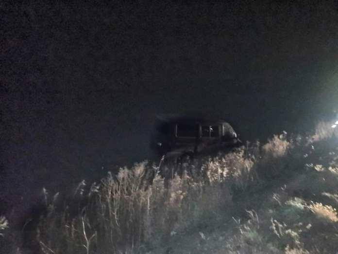 В Скопинском районе пьяный водитель на ГАЗ-2217 вылетел в кювет и опрокинулся
