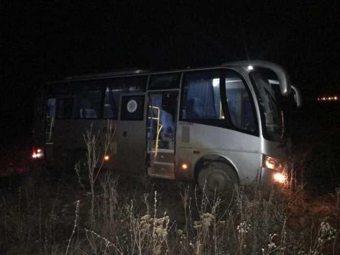 В результате ДТП с автобусом под Рязанью пострадали четыре человека