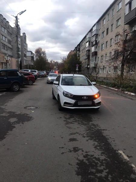 """В Рязани """"Лада Веста"""" сбила 15-летнего велосипедиста"""