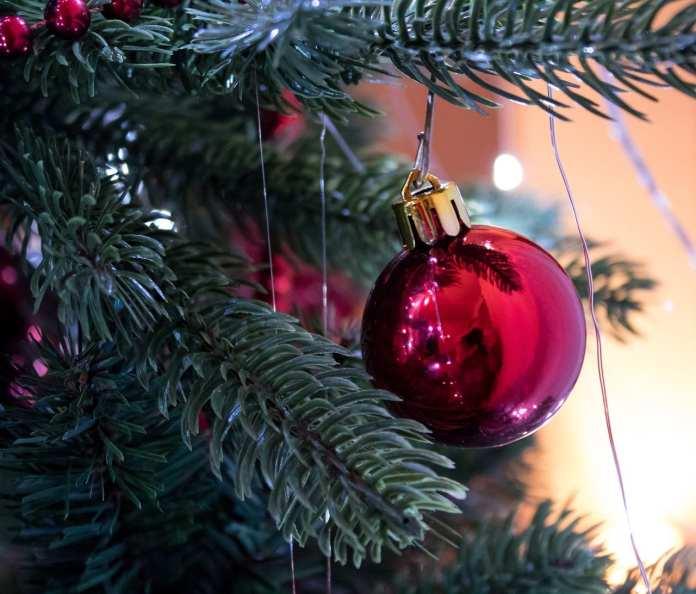 """В Астрахани возле """"Лукойла"""" установили первую новогоднюю ёлку"""