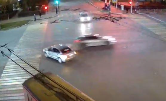 ДТП с «Порше Панамера» в центре Рязани попало на видео