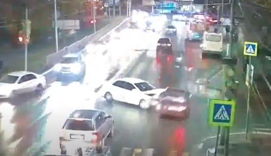 Жёсткое ДТП в Рязани попало на видео