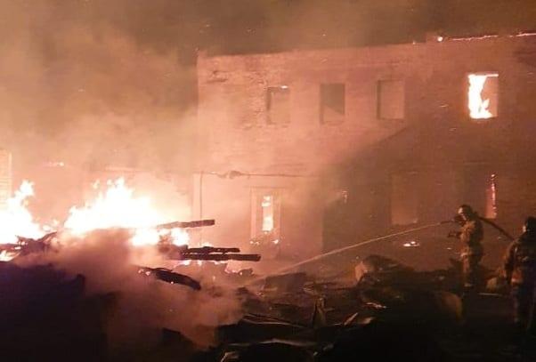 Стали известны подробности пожара в доме Барковых в Касимове