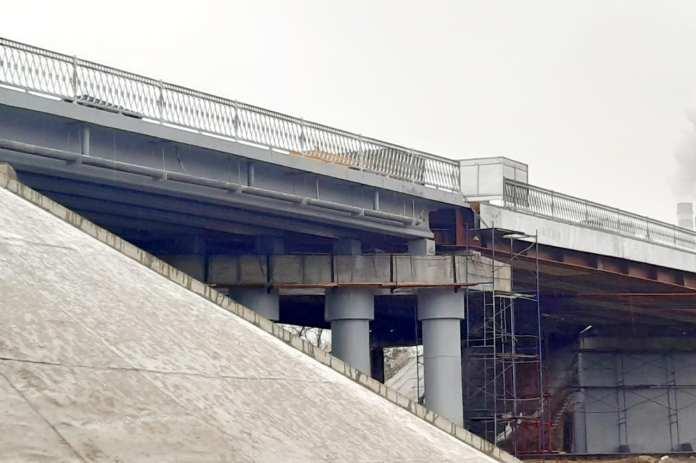 В Липецке завершается ремонт моста в районе Новой Жизни