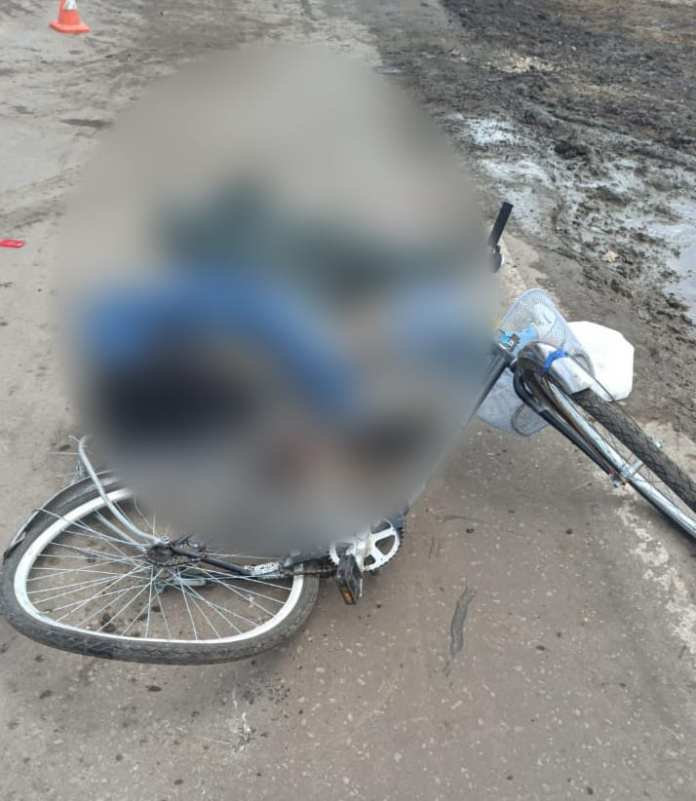 В Ряжском районе грузовик насмерть сбил велосипедиста
