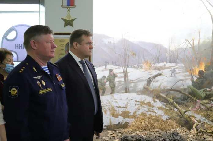 В Рязани открылась диорама «Высота 776»