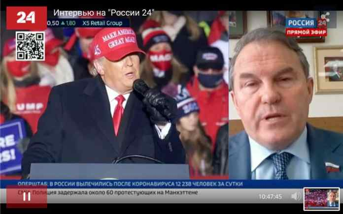Сенатор от Рязанской области оценил возможные итоги выборов в США