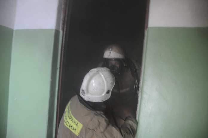 На пожаре в центре Рязани пострадали двое 35-летних мужчин