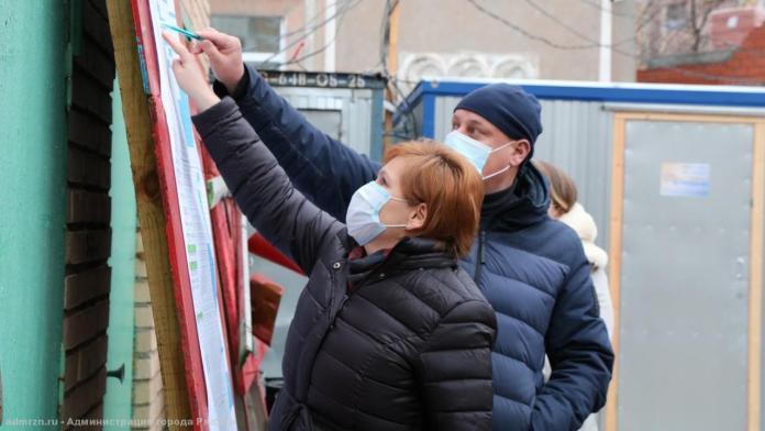 Сорокина проверила возведение двух пристроек к рязанским детсадам