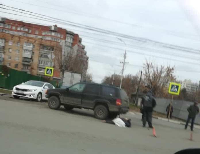 В ДТП на улице Есенина в Рязани погиб водитель внедорожника
