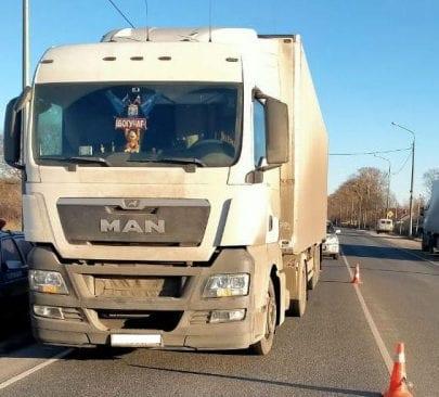 В Шацком районе грузовик сбил 10-летнего мальчика