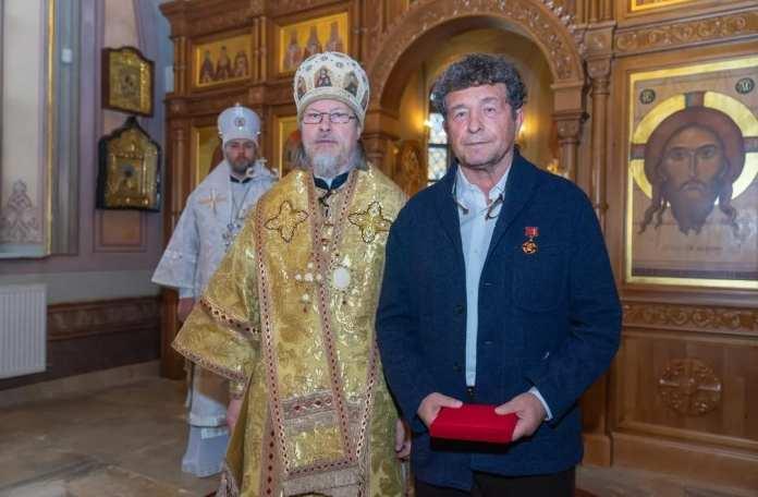 Митрополит Марк наградил Анатолия Шестакова за помощь Казанскому монастырю в Рязани