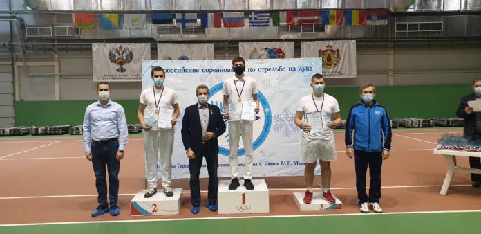 На всероссийских соревнованиях по стрельбе из лука рязанцы завоевали четыре медали