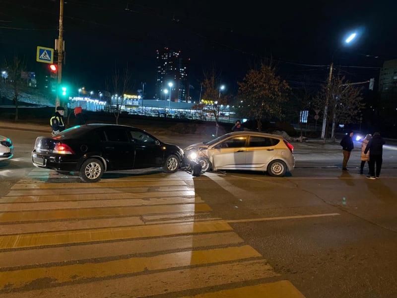Фото с места ДТП на Касимовском шоссе в Рязани