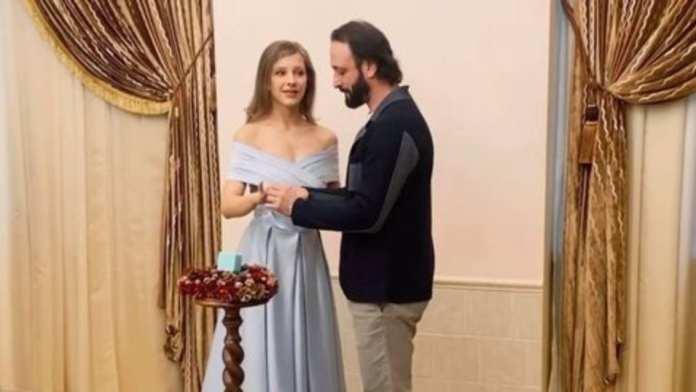 Илья Авербух женился на Лизе Арзамасовой