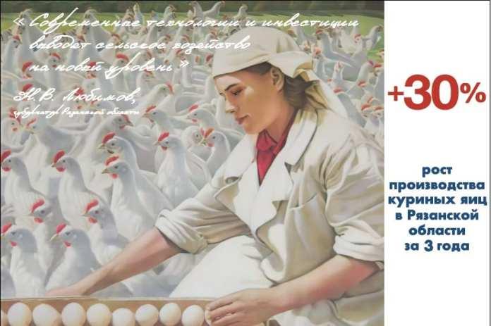 Рекордный 2020-й. Чем порадовало сельское хозяйство Рязанской области в уходящем году