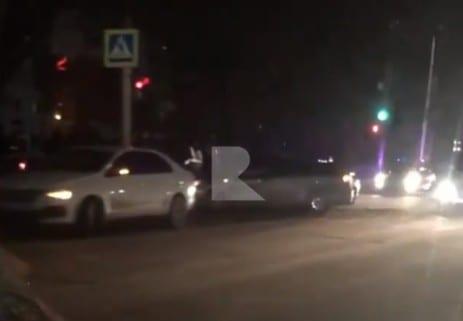 На Касимовском шоссе в Рязани произошло тройное ДТП