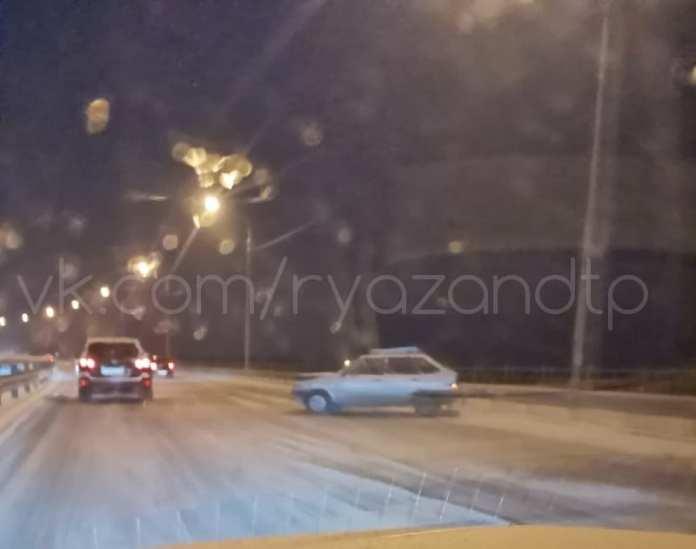 На Северной окружной в Рязани вновь произошло ДТП