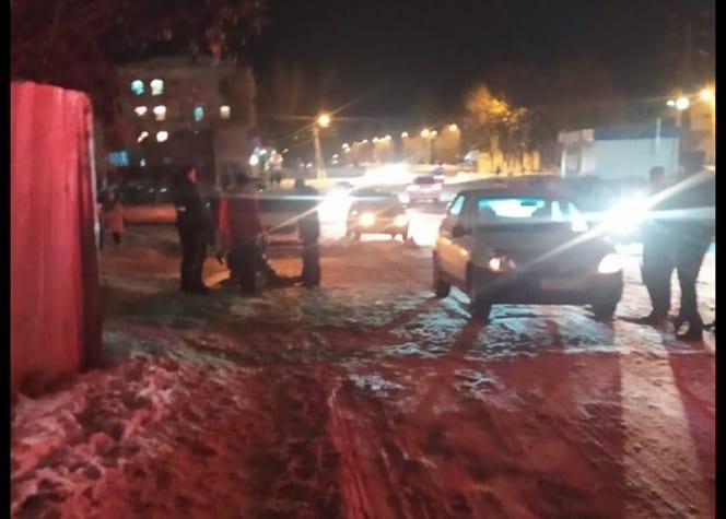 В Касимове автомобиль сбил человека