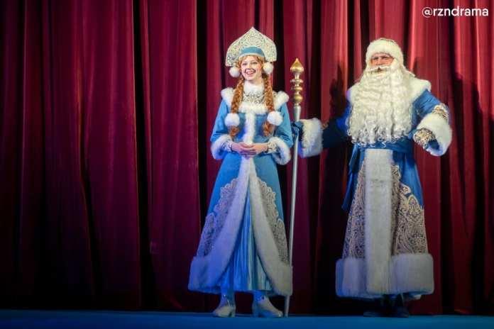 В Рязанском театре драмы поставили сказку «Госпожа Метелеца»